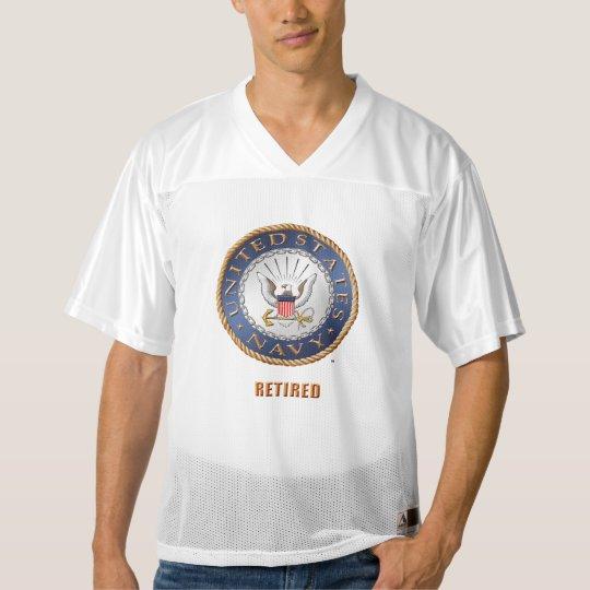 U.S. Navy Retired Men's Football Jersey