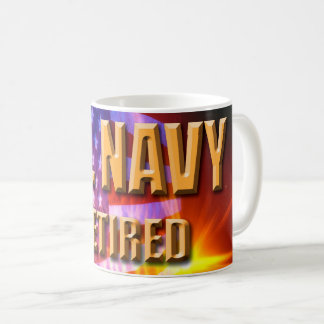 U.S. Navy Retired Mug