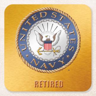 U.S. Navy Retired Paper Coaster