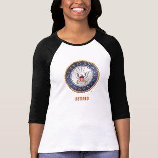 U.S. Navy Retired Women's Bella+Canvas Regan Shirt