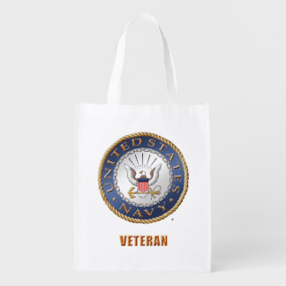 U.S. Navy Reusable Grocery Bag