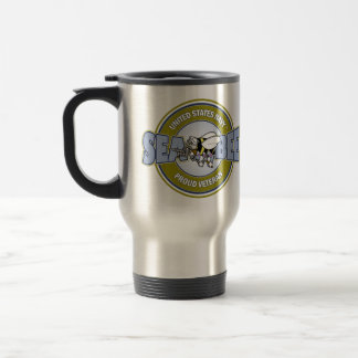 U.S. Navy Seabee Travel Mug