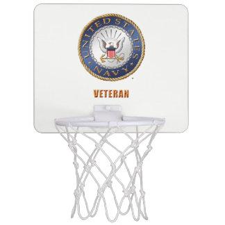 U.S. Navy Veteran Basketball Hoop