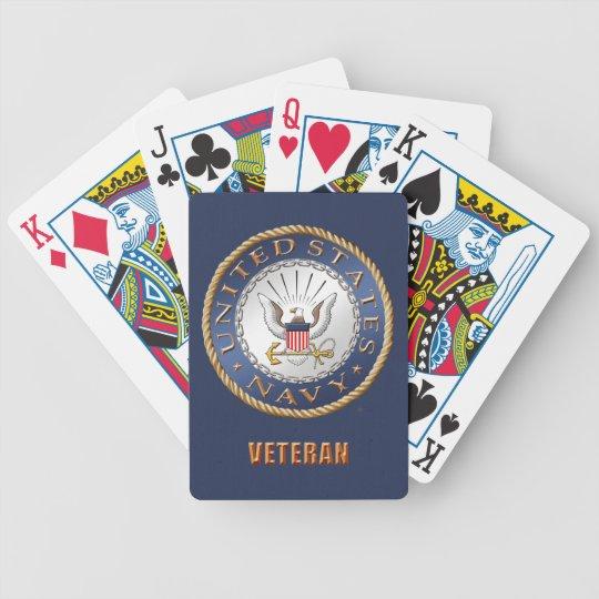 U.S. Navy Veteran Bicycle® Poker Playing Cards