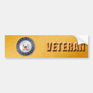 U.S. Navy Veteran Bumper Sticker