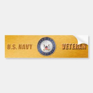 U.S. Navy Veteran Bumper Sticker