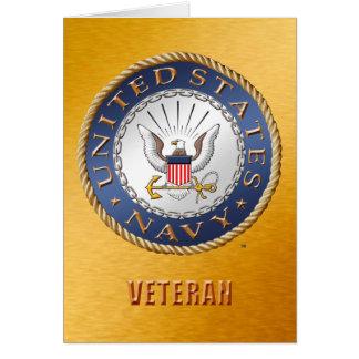 U.S. Navy Veteran Cards