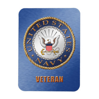 U.S. Navy Veteran Flexible Photo Magnet