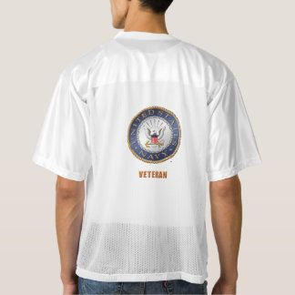 U.S. Navy Veteran Football Jersey