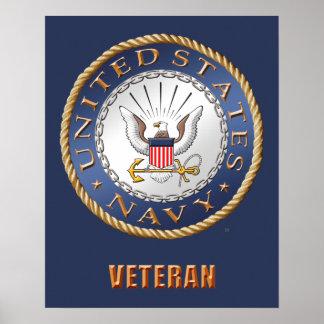 U.S. Navy Veteran Poster