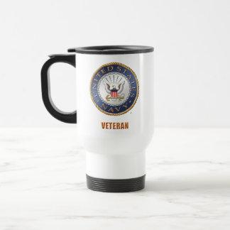 U.S. Navy Veteran Travel/Commuter Mug