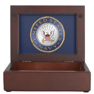 U.S. Navy Wooden Keepsake Box