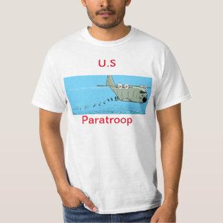 U.S Paratroop Cartoon Men's Shirt