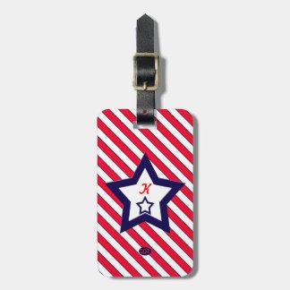 U.S. Patriotic Celebration of National Holidays Luggage Tags