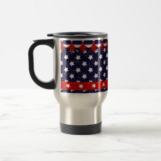 U.S. Patriotic Celebration of National Holidays 15 Oz Stainless Steel Travel Mug