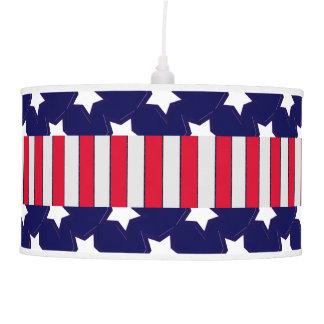 U.S. Patriotic Celebration of National Holidays Pendant Lamp