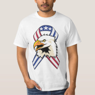 U.S. Patriotic Eagle Flag T-Shirt