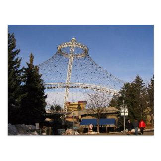 U.S. Pavilion Riverfront Park. Postcard