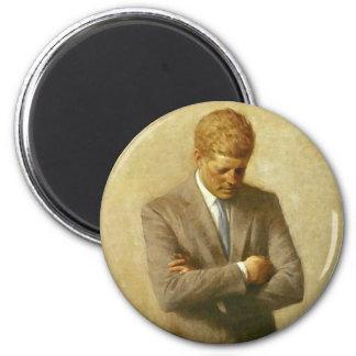 U.S. President John F. Kennedy by Aaron Shikler Magnet