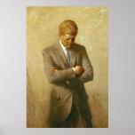 U.S. President John F. Kennedy by Aaron Shikler Print