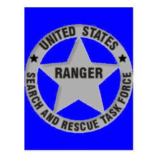 U.S. Ranger Search and Rescue Postcard