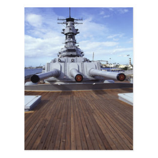 U.S.S. Missouri, Pearl Harbor, Oahu, Hawaii Postcard