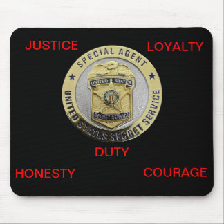 U.S. SECRET SERVICE MOUSE PAD