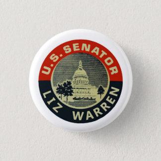 U.S. Senator Liz Warren 1 Inch Round Button