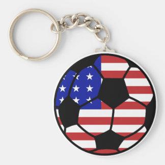 U.S. Soccer Keychain