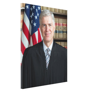 U.S. Supreme Court Justice Neil Gorsuch Canvas Print