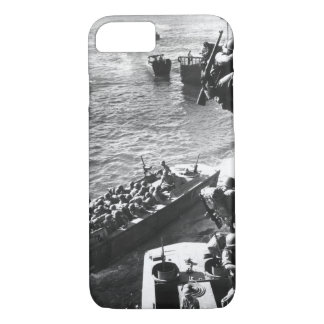 U.S. troops go over the side of a Coast_War Image iPhone 7 Case