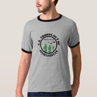 U.S. Troops out of Afghanistan T-Shirt