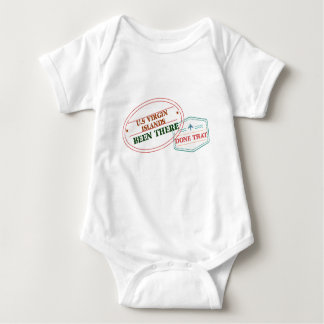 U.S Virgin Islands Been There Done That Baby Bodysuit