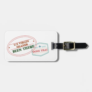 U.S Virgin Islands Been There Done That Luggage Tag