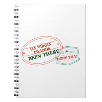 U.S Virgin Islands Been There Done That Notebook
