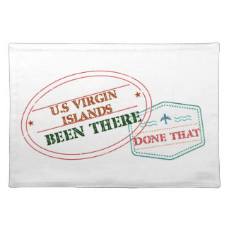 U.S Virgin Islands Been There Done That Placemat