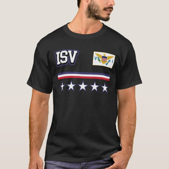U.S. Virgin Islands Flag T-Shirt