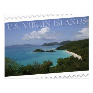 U.S. Virgin Islands - St. John's Trunk Bay Postcard