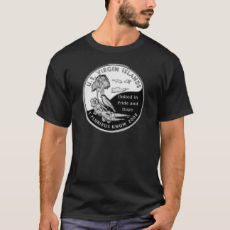 U.S. Virgin Islands state quarter T-Shirt
