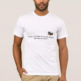 U.SC.G. shirt, cool, get for vet, T-Shirt