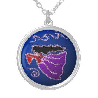 U vihoru vremena silver plated necklace