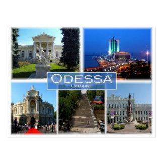 UA Ukraine - Odessa - Postcard