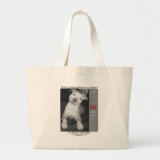 UAA Spay Neuter Clinics Large Tote Bag