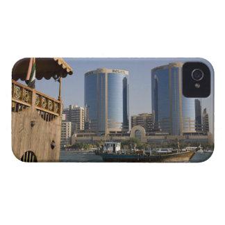 UAE, Dubai, Dubai Creek. Dhow cruises channel iPhone 4 Case-Mate Case