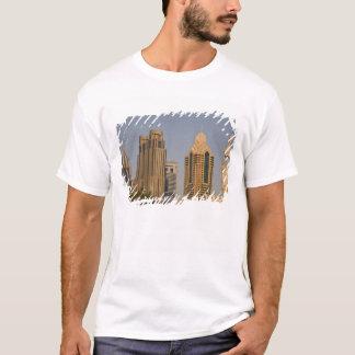 UAE, Dubai. Minaret of mosque in Al Wasl, with T-Shirt