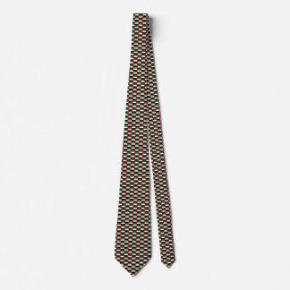 UAE Flag Honeycomb Tie