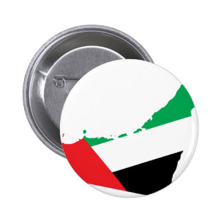 Uae flag map 2 inch round button