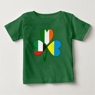 UAE Ukraine Ireland Shamrock Baby T-Shirt