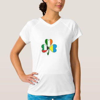 UAE Ukraine Ireland Shamrock T-Shirt
