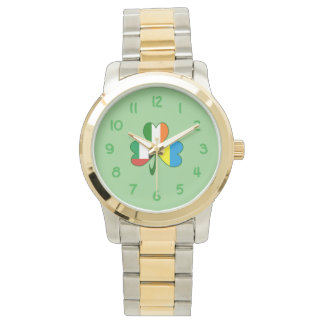 UAE Ukraine Ireland Shamrock Watch